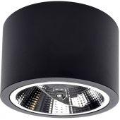 Milagro Redondo lampa podsufitowa 1x15W czarna ML5698