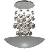 Milagro Perla lampa wisząca 1x42W srebrna ML858