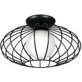 Milagro Kronos lampa podsufitowa 1x40W czarna MLP4425