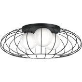 Milagro Kronos lampa podsufitowa 3x40W czarna MLP4426