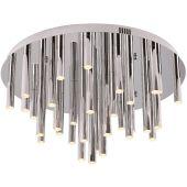 MaxLight Organic Copper lampa podsufitowa 33x1W chrom C0115D
