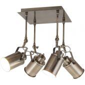 Rabalux Peter lampa podsufitowa 4x60W brąz antyczny 5984