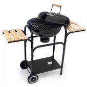 Mirpol grill węglowy wózek kulisty z popielnikiem i półkami MIR270