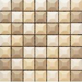 Tubądzin Elementary mozaika ścienna Cream 31,4x31,4cm