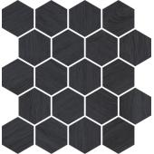 Paradyż Taiga mozaika ścienna Grafit Wood Mozaika Cienta 25,8X28cm