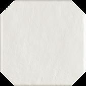 Paradyż Modern płytka podłogowa Bianco Struktura Octagon 19,8x19,8cm parModBiaStrOct20x20
