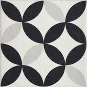 Paradyż Modern płytka podłogowa Motyw E Struktura 19,8x19,8cm parModMotEStr20x20