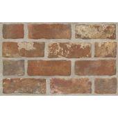 Paradyż Loft płytka ścienna Brown Struktura Brick 25X40cm