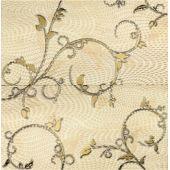 Tubądzin Traviata dekoracja ścienna 2-elementowa ornament 60,8x61,8
