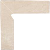 Paradyż Cotto cokół Crema dwuelementowy lewy 8,1X30 cm Mat Z---081X300-1-COTT.CRLE