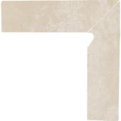Paradyż Cotto cokół Crema dwuelementowy prawy 8,1X30 cm Mat Z---081X300-1-COTT.CRPR