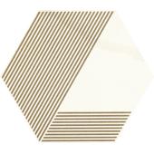 Paradyż Calacatta hexagon A Mat 17,1x19,8cm