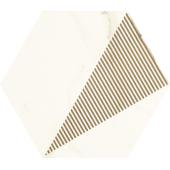 Paradyż Calacatta hexagon C Mat 17,1x19,8cm
