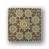 Tubądzin Majolika dekor ścienny Rotundo 1 11,5x11,5 cm