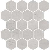 Paradyż Space mozaika Cięta Grys Heksagon Mat 25,8x28 cm