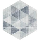 Paradyż Hexx dekoracja ścienna Universum Motyw Grigio Heksagon 26x26 cm