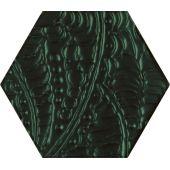 Paradyż Urban Colours dekor ścienny 19.8x17.1 cm STR zielony połysk