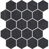 Paradyż Taiga mozaika ścienna 25,8x28 cm grafit
