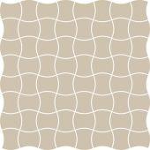 Paradyż Modernizm mozaika ścienno-podłogowa 30,9x30,9 cm prasowana biała