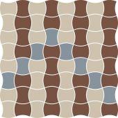 Paradyż Modernizm mozaika ścienno-podłogowa 30,9x30,9 cm prasowana mix B