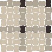 Paradyż Modernizm mozaika ścienno-podłogowa 30,9x30,9 cm prasowana mix A