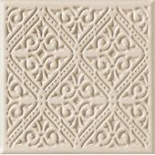 Tubądzin Majolika C dekor ścienny 20x20 cm STR mocca mat