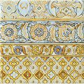 Tubądzin Majolika Intense C dekor ścienny 20x20 cm połysk