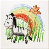 Tubądzin Pastel dekor ścienny 20x20 cm safari 1