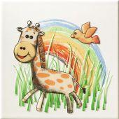 Tubądzin Pastel dekor ścienny 20x20 cm safari 2