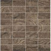 Tubądzin Traviata mozaika ścienna 30,8x30,3 cm brązowa