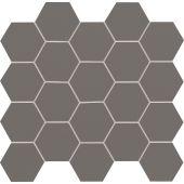 Tubądzin All in white mozaika ścienna 28,2x30,6 cm szara