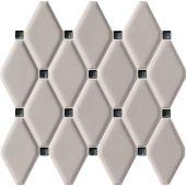 Tubądzin Abisso mozaika ścienna 29,8x27 cm szara
