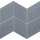 Tubądzin House of Tones mozaika ścienna 22,8x29,8 cm niebieski mat