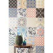 Tubądzin Unit Plus dekor ścienny 22,3x22,3 cm patch biały