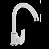 Invena Dokos bateria kuchenna stojąca biała/chrom BZ-19-002