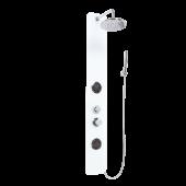 Invena Mitis Plus panel prysznicowy do hydromasażu chrom AK-64-003