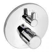 Kludi Zenta bateria wannowo-prysznicowa podtynkowa termostatyczna chrom 388300545