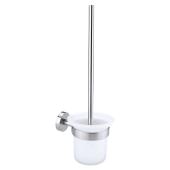 Tesa Moon szczotka toaletowa bez wiercenia szkło/chrom mat 40302