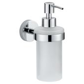 Tesa Smooz dozownik do mydła bez wiercenia szkło/chrom 40323