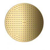 Axor ShowerSolutions deszczownica 30 cm podtynkowa okrągła złoty optyczny polerowany 35302990