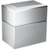 Axor Edge zawór odcinający podtynkowy szlif diamentowy chrom 46771000