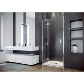 Besco Viva drzwi prysznicowe 100x195 cm lewe szkło przezroczyste DVL-100-195-C