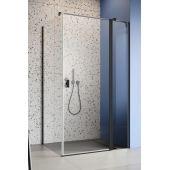 Radaway Nes Black KDJ II drzwi prysznicowe 90 cm prawe szkło przezroczyste 10032090-54-01R