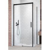 Radaway Idea Black KDJ drzwi prysznicowe 100 cm lewe szkło przezroczyste 387040-54-01L
