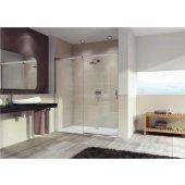 Hüppe Aura Elegance 4-kąt drzwi prysznicowe 170 cm lewe szkło przezroczyste 401419.087.322