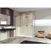 Hüppe Aura elegance ścianka boczna 80 cm do drzwi suwanych 401602.092.322