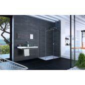 Hüppe Xtensa Pure 4-kąt ścianka prysznicowa 70 cm szkło przezroczyste XT0305.069.322