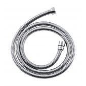 Invena wąż prysznicowy 150 cm stalowy rozciągliwy chrom AW-42-150