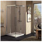 Ideal Standard Kubo drzwi prysznicowe 90 cm z wejściem narożnym szkło przezroczyste T7158EO