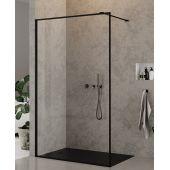 New Trendy New Modus Black ścianka prysznicowa Walk-In 90 cm szkło przezroczyste EXK-0106